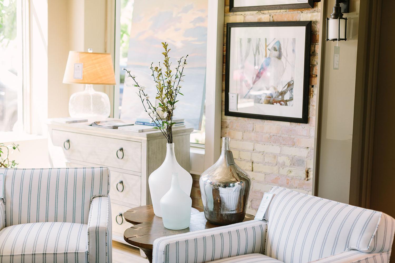 Cottage Furniture At The Cedar Creek Interiors Showroom In Elk Rapids, ...